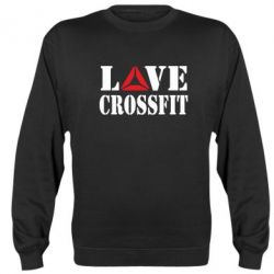 Реглан (свитшот) Love CrossFit - FatLine