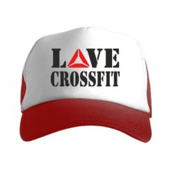 Кепка-тракер Love CrossFit - FatLine