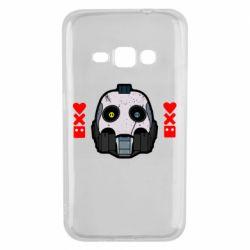 Чехол для Samsung J1 2016 Love death and robots