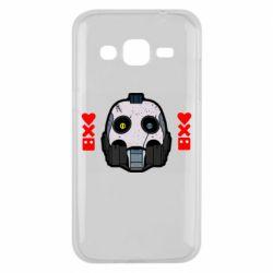 Чехол для Samsung J2 2015 Love death and robots