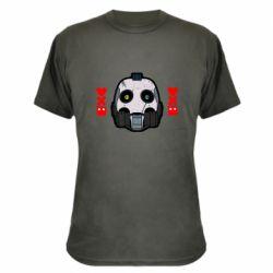 Камуфляжная футболка Love death and robots