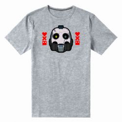Мужская стрейчевая футболка Love death and robots