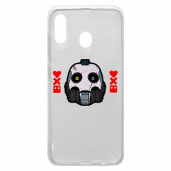 Чехол для Samsung A20 Love death and robots