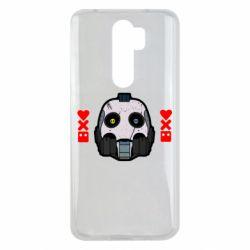 Чехол для Xiaomi Redmi Note 8 Pro Love death and robots
