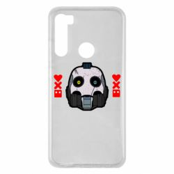 Чехол для Xiaomi Redmi Note 8 Love death and robots