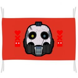 Флаг Love death and robots