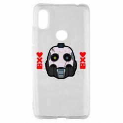 Чехол для Xiaomi Redmi S2 Love death and robots