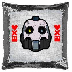 Подушка-хамелеон Love death and robots