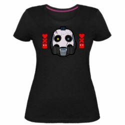 Женская стрейчевая футболка Love death and robots