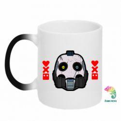 Кружка-хамелеон Love death and robots