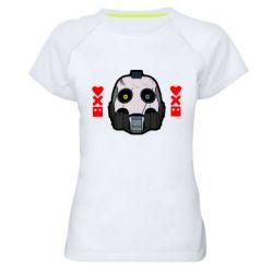 Женская спортивная футболка Love death and robots