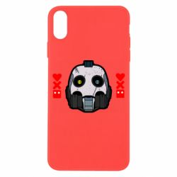 Чехол для iPhone X/Xs Love death and robots