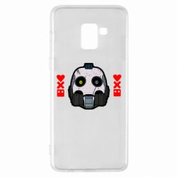 Чехол для Samsung A8+ 2018 Love death and robots