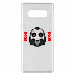 Чехол для Samsung Note 8 Love death and robots