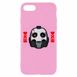 Чехол для iPhone 8 Love death and robots