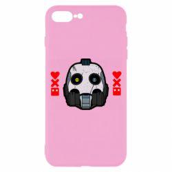 Чехол для iPhone 8 Plus Love death and robots