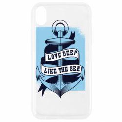 Чохол для iPhone XR Love deep like the sea