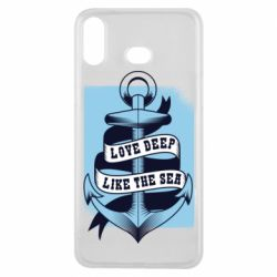 Чехол для Samsung A6s Love deep like the sea