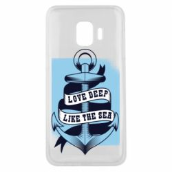 Чехол для Samsung J2 Core Love deep like the sea