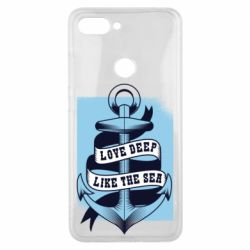Чохол для Xiaomi Mi8 Lite Love deep like the sea