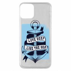 Чохол для iPhone 11 Love deep like the sea