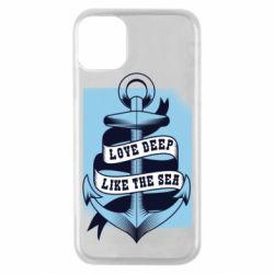 Чохол для iPhone 11 Pro Love deep like the sea