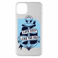 Чехол для iPhone 11 Pro Max Love deep like the sea