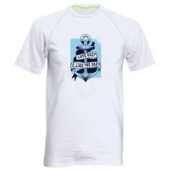 Чоловіча спортивна футболка Love deep like the sea