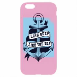 Чехол для iPhone 6 Plus/6S Plus Love deep like the sea