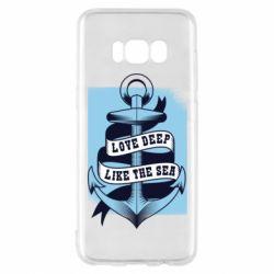 Чохол для Samsung S8 Love deep like the sea