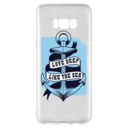 Чехол для Samsung S8+ Love deep like the sea