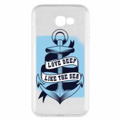 Чохол для Samsung A7 2017 Love deep like the sea