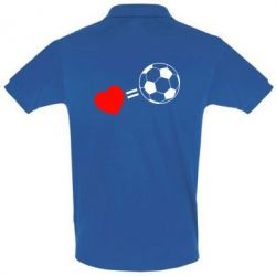 Футболка Поло Love=Football - FatLine