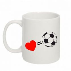 Кружка 320ml Love=Football - FatLine