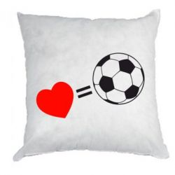Подушка Love=Football - FatLine