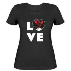 Жіноча футболка LOVE hedgehogs
