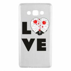 Чохол для Samsung A7 2015 LOVE hedgehogs