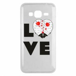 Чохол для Samsung J3 2016 LOVE hedgehogs