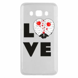 Чохол для Samsung J5 2016 LOVE hedgehogs