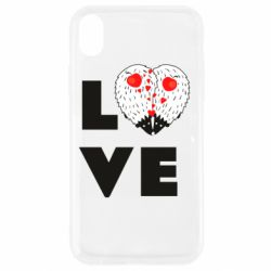 Чохол для iPhone XR LOVE hedgehogs