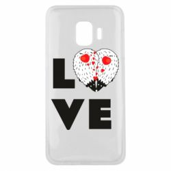 Чохол для Samsung J2 Core LOVE hedgehogs