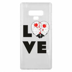 Чохол для Samsung Note 9 LOVE hedgehogs
