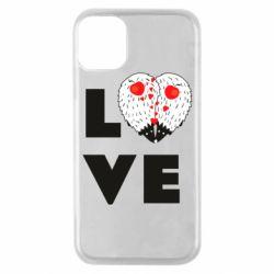 Чохол для iPhone 11 Pro LOVE hedgehogs