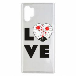 Чохол для Samsung Note 10 Plus LOVE hedgehogs
