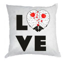 Подушка LOVE hedgehogs