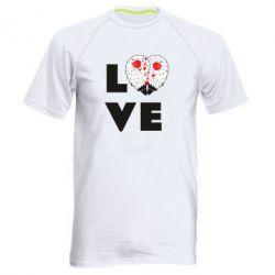 Чоловіча спортивна футболка LOVE hedgehogs