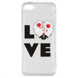 Чохол для iphone 5/5S/SE LOVE hedgehogs