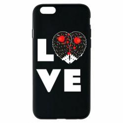 Чохол для iPhone 6/6S LOVE hedgehogs