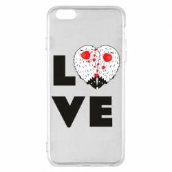 Чохол для iPhone 6 Plus/6S Plus LOVE hedgehogs