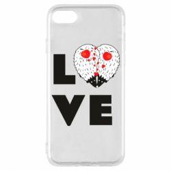 Чохол для iPhone 8 LOVE hedgehogs